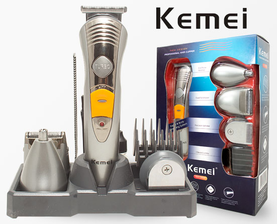 kemei-7-in-1-grooming-kit-trimmer-shaver (2)