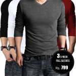 Pack-of-3-v-neck-full-aleeves-tshirts