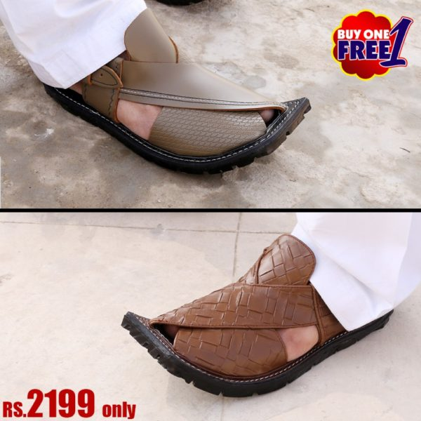 DEAL2-buy-1-get-1-free-peshawari-sandal-chappal-online-sale-pakistan-deal-cheap-rates-pure-leather-getit.pk