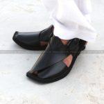 CS-107-pesahwari-sandal-chappal-kheri-pure-leather-chamra-denim-hand-made-norozi-saplae-getit (1)