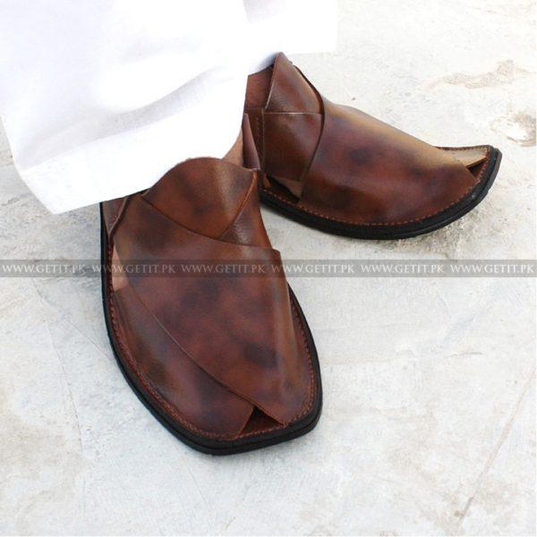 CS-113-pesahwari-sandal-chappal-kheri-pure-leather-chamra-denim-hand-made-norozi-saplae-getit (1)