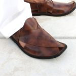 CS-113-pesahwari-sandal-chappal-kheri-pure-leather-chamra-denim-hand-made-norozi-saplae-getit (2)