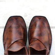 CS-113-pesahwari-sandal-chappal-kheri-pure-leather-chamra-denim-hand-made-norozi-saplae-getit (3)