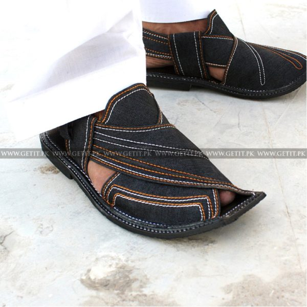 CS-114-pesahwari-sandal-chappal-kheri-pure-leather-chamra-denim-hand-made-norozi-saplae-getit (2)