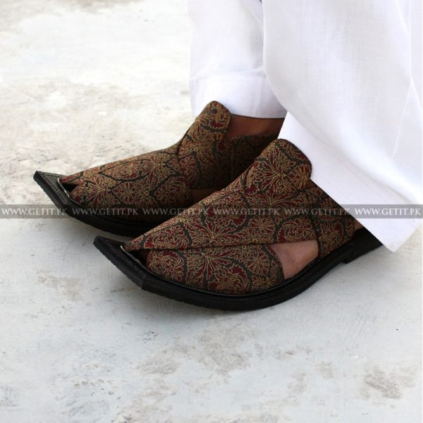 CS-116-pesahwari-sandal-chappal-kheri-pure-leather-chamra-denim-hand-made-norozi-saplae-getit (2)