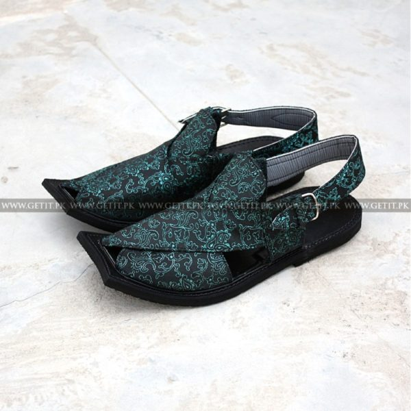 CS-118-pesahwari-sandal-chappal-kheri-pure-leather-chamra-denim-hand-made-norozi-saplae-getit (2)