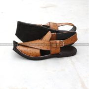 CS-119-pesahwari-sandal-chappal-kheri-pure-leather-chamra-denim-hand-made-norozi-saplae-getit (2)