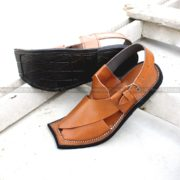 CS-122-pesahwari-sandal-chappal-kheri-pure-leather-chamra-denim-hand-made-norozi-saplae-getit (1)
