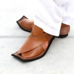 CS-122-pesahwari-sandal-chappal-kheri-pure-leather-chamra-denim-hand-made-norozi-saplae-getit (2)