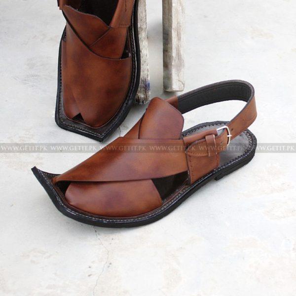 CS-123-pesahwari-sandal-chappal-kheri-pure-leather-chamra-denim-hand-made-norozi-saplae-getit (1)