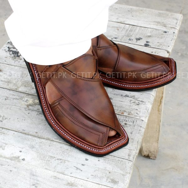 Pk Made 161 Pure Leather Peshawari Cs M8wnvn0 Hand Chappal Getit eH9EDbW2YI